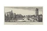 Westminster in 1650 Lámina giclée por Wenceslaus Hollar