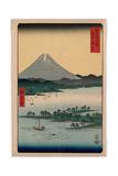 Suruga Miho No Matsubara Reproduction procédé giclée par Utagawa Hiroshige