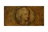 William Cowper Giclée-tryk af William Blake