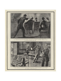 The Assassination of President Lincoln at Ford's Theatre Giclee Print by William Allen Rogers
