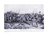 The Battle of Abu-Klea January 16, 1885 Ad, C.1920 Reproduction procédé giclée par William Barnes Wollen