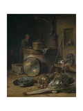 Peasant Interior with Woman at a Well, C.1642–43 Giclee Print by Willem Kalf