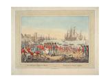 The British Royal Navy, 1815 Giclee Print by Wilhelm Alexander Kobell