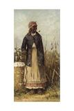 Cotton Picker Giclée-tryk af William Aiken Walker