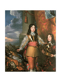 Charles II as Prince of Wales with a Page, C.1642 Giclée-vedos tekijänä William Dobson
