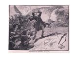 The Assault on Athlone Ad 1691 Reproduction procédé giclée par William Barnes Wollen
