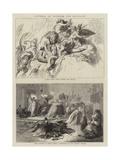 Pictures by Wilhelm Von Kaulbach Giclee Print by Wilhelm Von Kaulbach