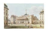View of the Theatre De L'Odeon, Paris Giclee Print by Victor Jean Nicolle