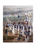 French Imperial Infantry Giclee Print by Wilhelm Alexander Kobell