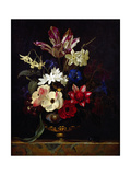 Still Life with Flowers Giclee Print by Willem van Aelst