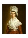 Sarah Mcclean Bolton, 1796 Giclee Print by Walter Robertson