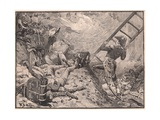 Marshal Lannes at Ratisbon Reproduction procédé giclée par William Barnes Wollen