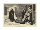 Pour Les Pauvres Giclee Print by William Frederick Yeames