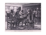 Arrest of the Conspirators at the Mermaid Ad 1658 Reproduction procédé giclée par William Barnes Wollen