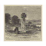Cross Erected on the Spot Where the Late Bishop of Winchester Was Killed Reproduction procédé giclée par William Henry James Boot
