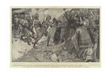 The Siege of the Peking Legation, the Arrival of the Head of the Relief Column Giclee Print by William Hatherell