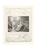 I Have Heard Thee with the Hearing of the Ear But Now My Eye Seeth Thee, 1825 Reproduction procédé giclée par William Blake
