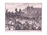 Surrender of the Boufflers Ad 1695 Reproduction procédé giclée par William Barnes Wollen