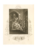 The Death of Prince Arthur, in King John by William Shakespeare (1564-1616) Engraved by J. Rogers Giclee Print by William Hamilton