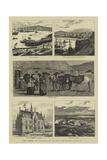 The Duke of Edinburgh in the Shetland Islands Reproduction procédé giclée par William Henry James Boot