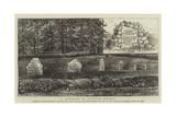 A Landmark of Scottish History Reproduction procédé giclée par William Henry James Boot