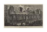 Burning of the Old Paris Opera House Reproduction procédé giclée par William Henry James Boot