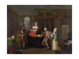 Marriage a La Mode: III - the Inspection, C.1743 Giclee Print by William Hogarth
