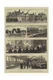 The Visit of the Prince of Wales to Bradgate Park, Leicestershire Reproduction procédé giclée par William Henry James Boot