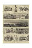 Sketches in Siberia Reproduction procédé giclée par William Henry James Boot