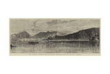 Sir Bartle Frere's Anti-Slavery Mission, View of Muscat, Arabia Reproduction procédé giclée par William Henry James Boot