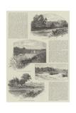 The Rivers of Great Britain, East Reproduction procédé giclée par William Henry James Boot