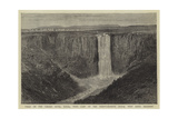 Falls on the Umgeni River, Natal, with Camp of the Ninety-Seventh (Royal West Kent) Regiment Reproduction procédé giclée par William Henry James Boot