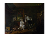 Marriage a La Mode: V, the Bagnio, C.1743 Giclee Print by William Hogarth