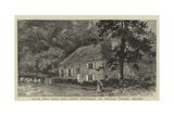 William Penn's Burial Place, Jordans Meeting-House and Graveyard, Ruscombe, Berkshire Reproduction procédé giclée par William Henry James Boot