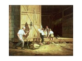 The Truant Gamblers, 1835 Giclee Print by William Sidney Mount