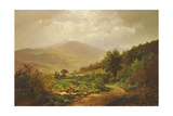 Bouquet Valley in the Adirondacks Giclee Print by William Trost Richards