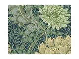 William Morris Wallpaper Sample with Chrysanthemum, 1877 Giclée-tryk af William Morris