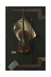 The Old Violin, 1886 Giclée-tryk af William Michael Harnett