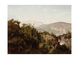 In the Adirondack Mountains, 1857 Giclee Print by William Trost Richards