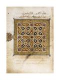 A Leaf from a Qur'An Manuscript Giclee Print