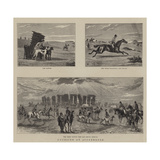 Coursing at Stonehenge Giclee Print by William Small