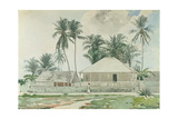 Cabins, Nassau, 1885 Giclee Print by Winslow Homer