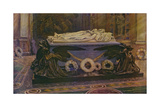 The Tombs of Queen Victoria and the Prince Consort in the Royal Mausoleum at Frogmore Giclee Print by William T. Maud