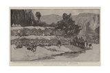 The Camp of the Gordon Highlanders During a Bombardment Giclee Print by William T. Maud