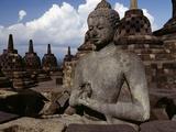 Buddha Statue Giclee Print