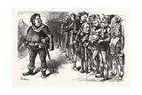 Falstaff Hancock His Ragged Regiment. Falstaff. If I Be Not Ashamed My Soldiers Giclee Print