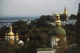 Domes of Kiev Pechersk Lavra Monastery or Kiev Monastery of Caves (Unesco World Heritage List Giclee Print