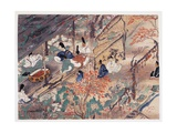 Heian Statesman and Poet Sugawara Michizane (845-903) Giclee Print