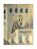 The Blessed Heals the Foot of a Monk of Vallombrosa Abbey Giclee Print