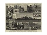 The Island of Juan Fernandez Giclée-tryk